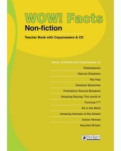 WOW! Facts Lime Teacher Book & CD