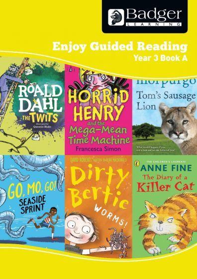 Enjoy Guided Reading Year 3 Book A Teacher Book & CD