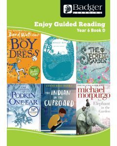 Enjoy Guided Reading Year 6 Book D Teacher Book & CD