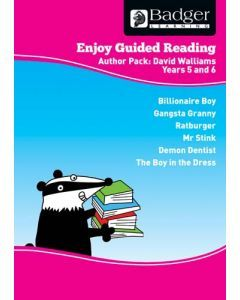 Enjoy Guided Reading David Walliams Teacher Book & CD