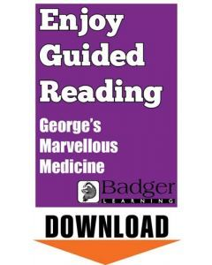 Enjoy Guided Reading: George's Marvellous Medicine Teacher Notes