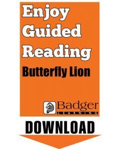 Enjoy Guided Reading: Butterfly Lion Teacher Notes