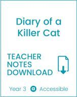 Enjoy Guided Reading: Diary of a Killer Cat Teacher Notes