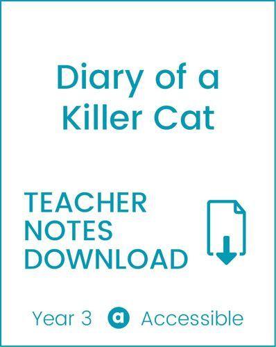 Enjoy Guided Reading: Diary of a Killer Cat Teacher Notes