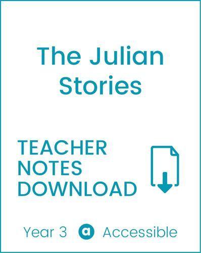 Enjoy Guided Reading: The Julian Stories Teacher Notes