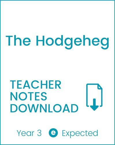 Enjoy Guided Reading: The Hodgeheg Teacher Notes