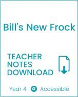 Enjoy Guided Reading: Bill's New Frock Teacher Notes