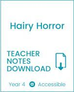 Enjoy Guided Reading: Hairy Horror Teacher Notes