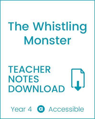 Enjoy Guided Reading: The Whistling Monster Teacher Notes