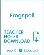Enjoy Guided Reading: Frogspell Teacher Notes