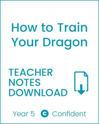 Enjoy Guided Reading: How to Train your Dragon Teacher Notes