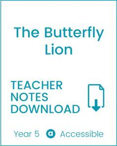 Enjoy Guided Reading: The Butterfly Lion Teacher Notes