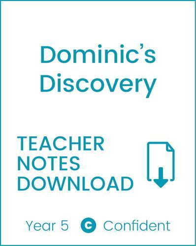Enjoy Guided Reading: Dominic's Discovery Teacher Notes