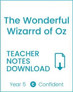 Enjoy Guided Reading: The Wonderful Wizard of Oz Teacher Notes