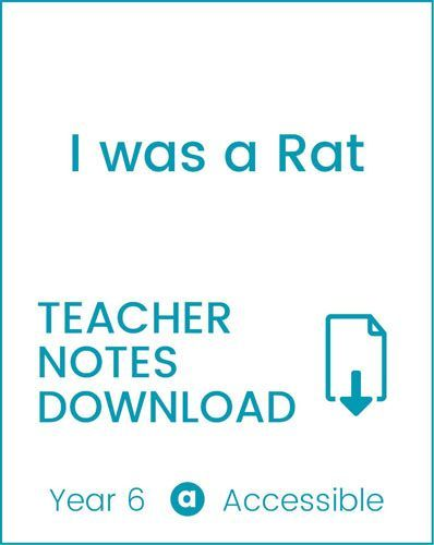 Enjoy Guided Reading: I Was a Rat! Teacher Notes