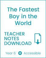 Enjoy Guided Reading: The Fastest Boy in the World Teacher Notes