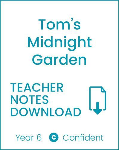 Enjoy Guided Reading: Tom's Midnight Garden Teacher Notes