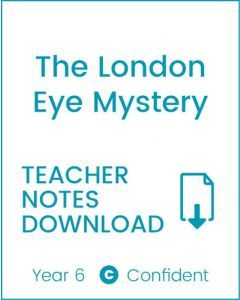 Enjoy Guided Reading: The London Eye Mystery Teacher Notes