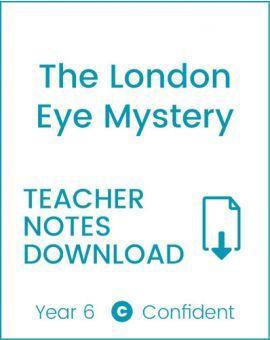 Enjoy Guided Reading: The London Eye Mystery Teacher Notes