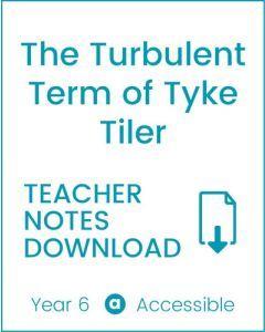 Enjoy Guided Reading: The Turbulent Term of Tyke Tiler Teacher Notes