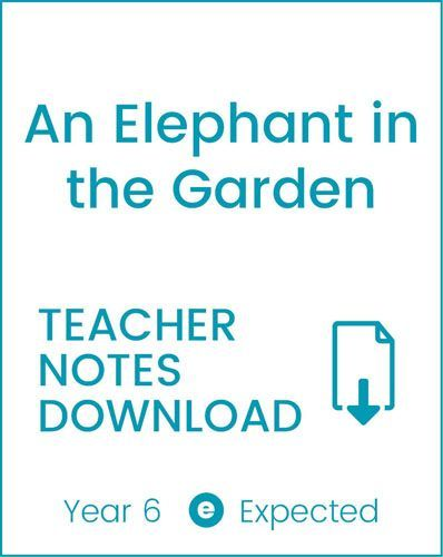Enjoy Guided Reading: An Elephant in the Garden Teacher Notes