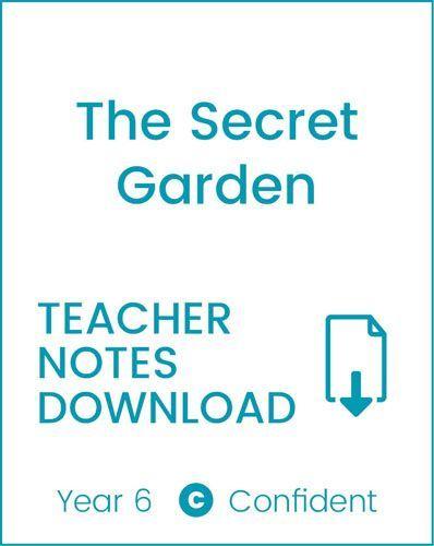 Enjoy Guided Reading: The Secret Garden Teacher Notes