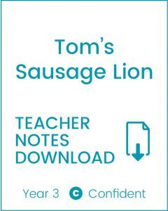Enjoy Guided Reading: Tom's Sausage Lion Teacher Notes