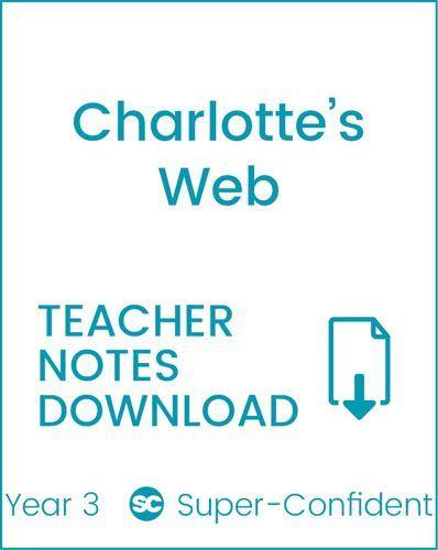 Enjoy Guided Reading: Charlotte's Web Teacher Notes