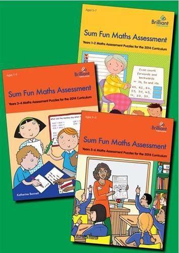 Sum Fun Maths: all 3 Teacher Books