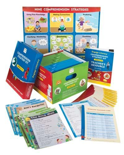 Engage Literacy Comprehension Kit Levels 16-22