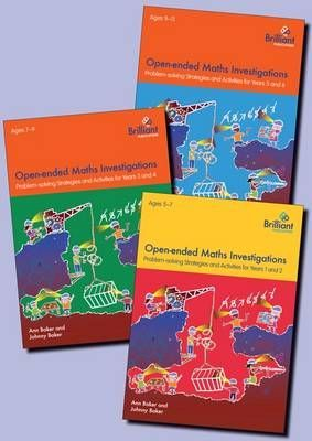 Open-ended Maths Investigations: all 3 Books
