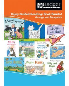 Enjoy Guided Reading Book Band - Orange to Turquoise Teacher Book & CD