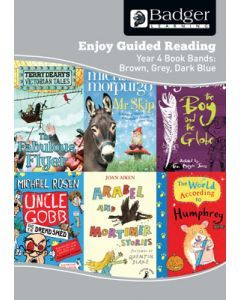 Enjoy Guided Reading KS2 Book Bands: Year 4 Brown, Grey & Dark Blue Teacher Book & CD