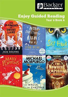 Enjoy Guided Reading Year 6 Book A Teacher Book & CD