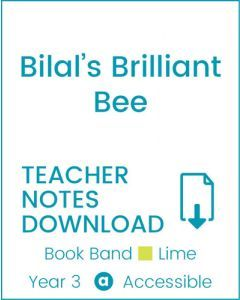 Enjoy Guided Reading: Bilal's Brilliant Bee Teacher Notes