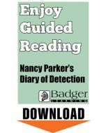 Enjoy Guided Reading: Nancy Parker's Diary of Detection Teacher Notes