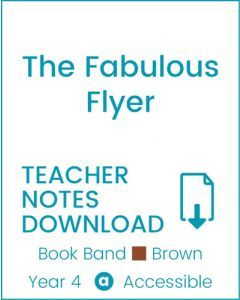 Enjoy Guided Reading: The Fabulous Flyer Teacher Notes