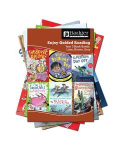 Enjoy Guided Reading KS2 Book Bands: Year 3 Lime, Brown & Grey Complete Pack