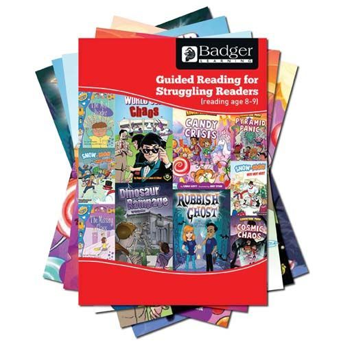 Enjoy Guided Reading For Struggling Readers: RA 8-9 Complete Pack