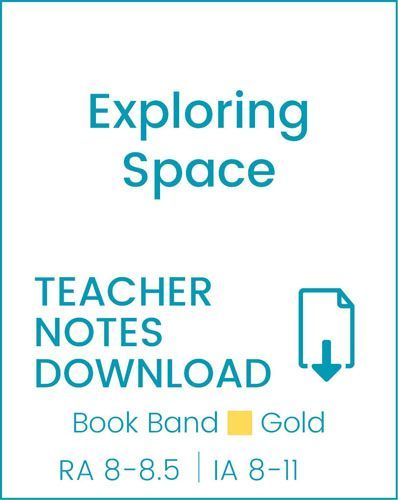 Enjoy Guided Reading: Exploring Space Teacher Notes