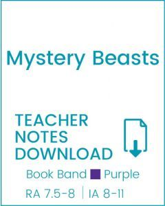 Enjoy Guided Reading: Mystery Beasts Teacher Notes