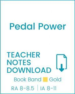 Enjoy Guided Reading: Pedal Power Teacher Notes