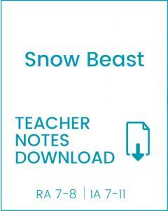 Enjoy Guided Reading: Snow Beast Teacher Notes