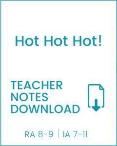 Enjoy Guided Reading: Hot Hot Hot! Teacher Notes