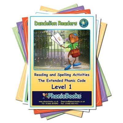 Dandelion Readers 2: Extended Phonic Code with Workbooks