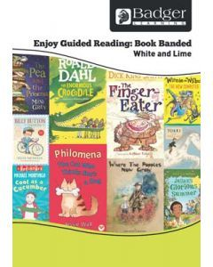 Enjoy Guided Reading Book Band - White and Lime Teacher Book & CD