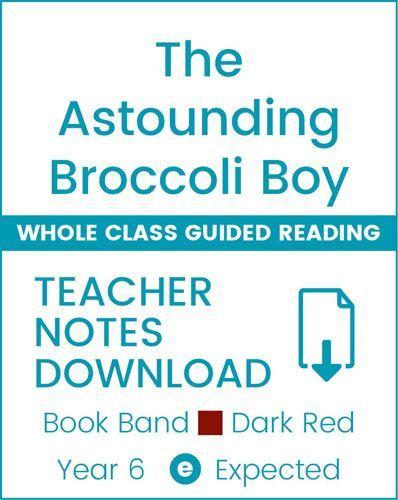 Enjoy Whole Class Guided Reading: The Astounding Broccoli Boy Teacher Notes