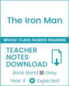 Enjoy Whole Class Guided Reading: The Iron Man Teacher Notes