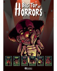 A3 Big Top of Horrors Poster