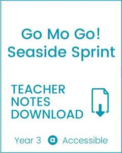 Enjoy Guided Reading: Go Mo Go! Seaside Sprint Teacher Notes